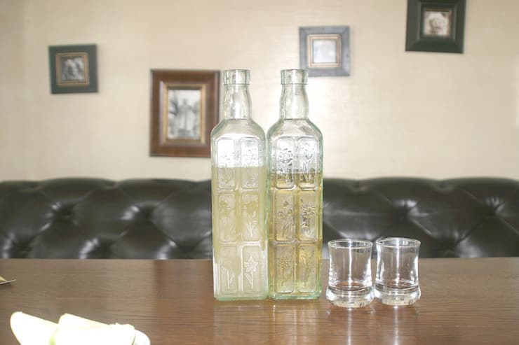 Russian alcohol drink Medovukha