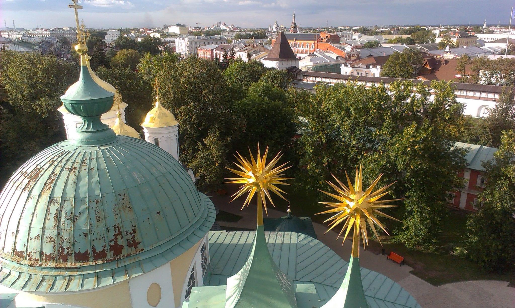 Yaroslavl city view