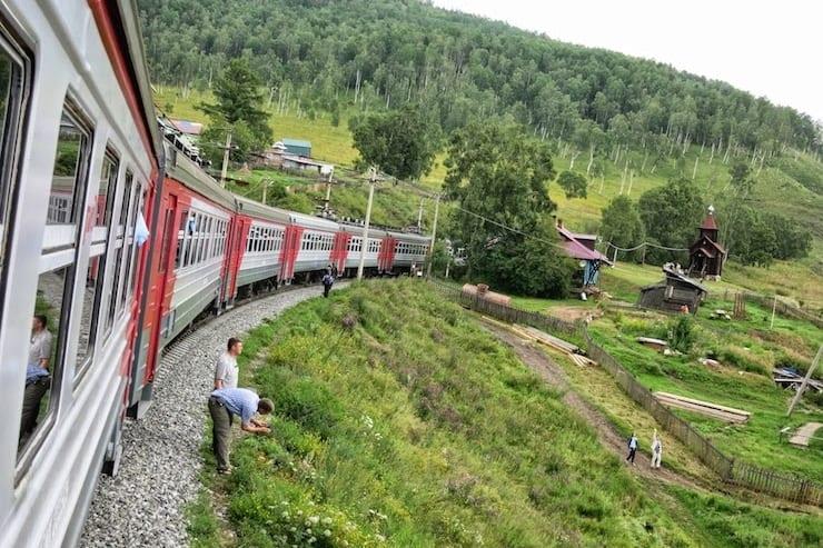 circum baikal railway tour