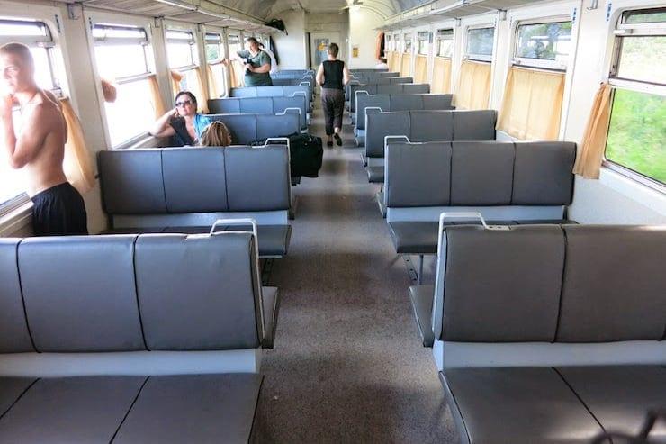 circum baikal railway train