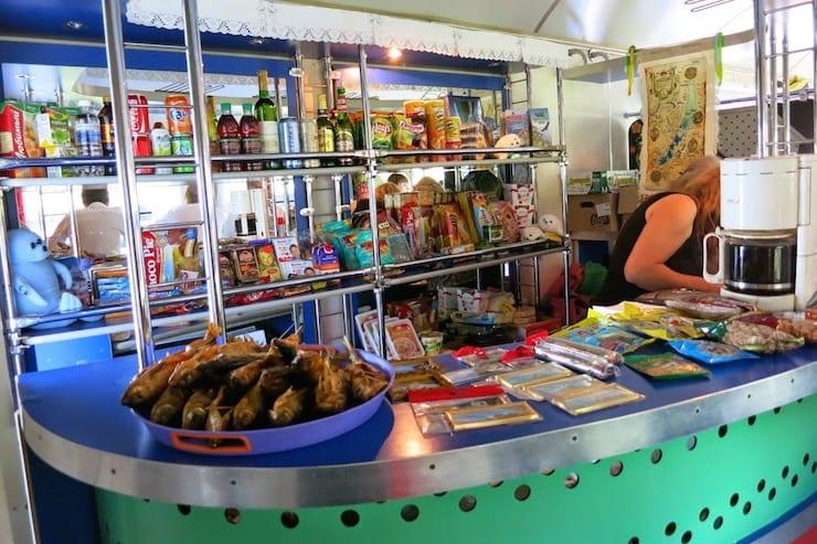 circum baikal railway food