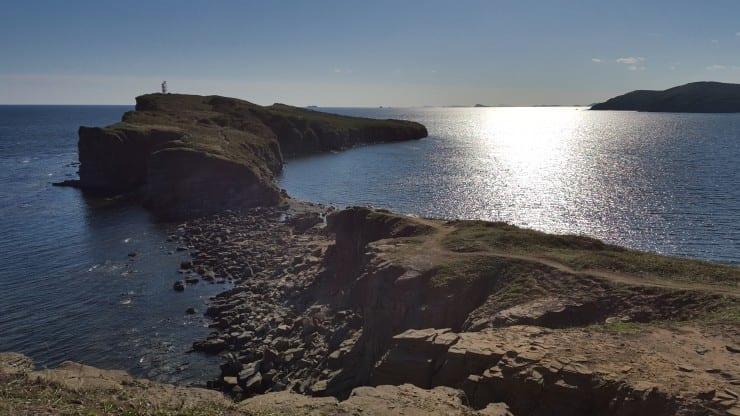 View on Russki Island, Russia