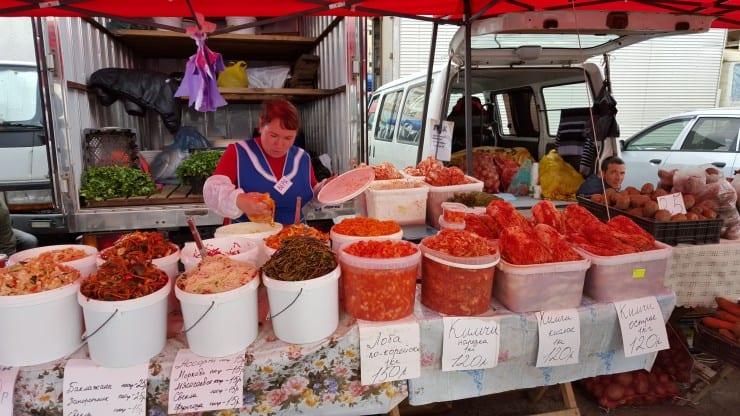 Market in Vladivostok