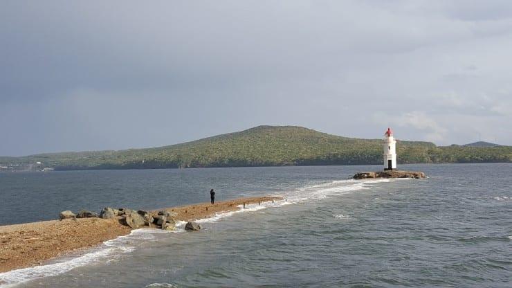 Lighthouse in Vladivostok