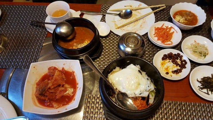 Korean food in Vladivostok