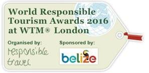 World Responsible Tourism Award 2016 at WTM Londong