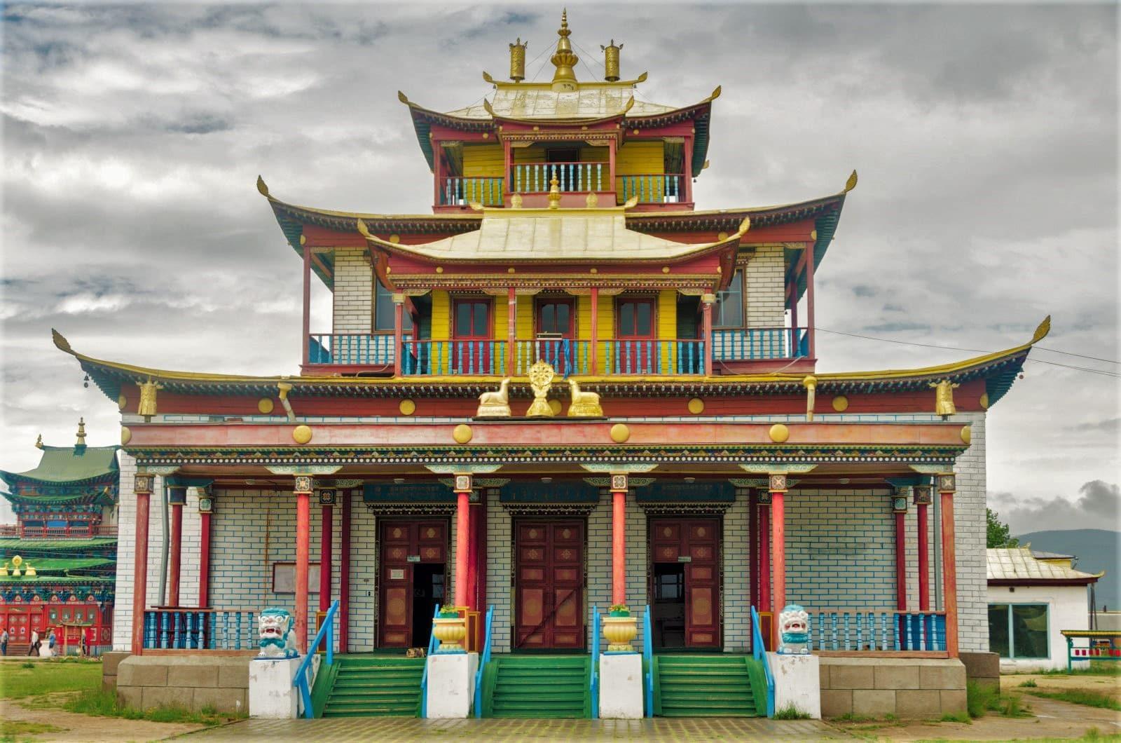 Datsan, Buddhist temple in Ulan Ude