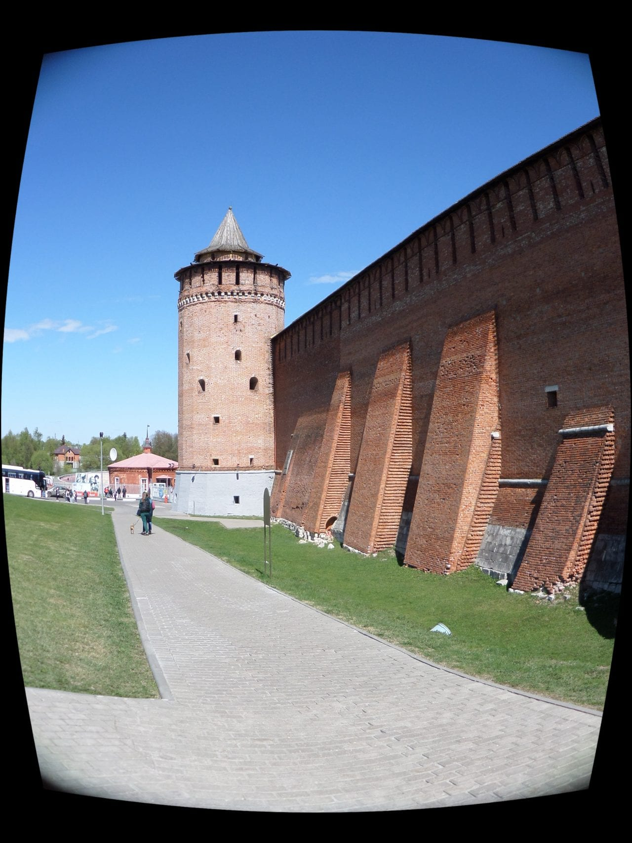 The majestic Kremlin walls Kolomna