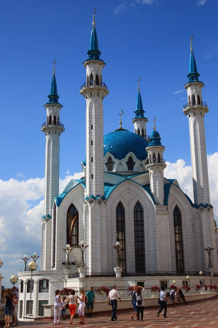Mosque in Kazan, best Trans-Siberian stop