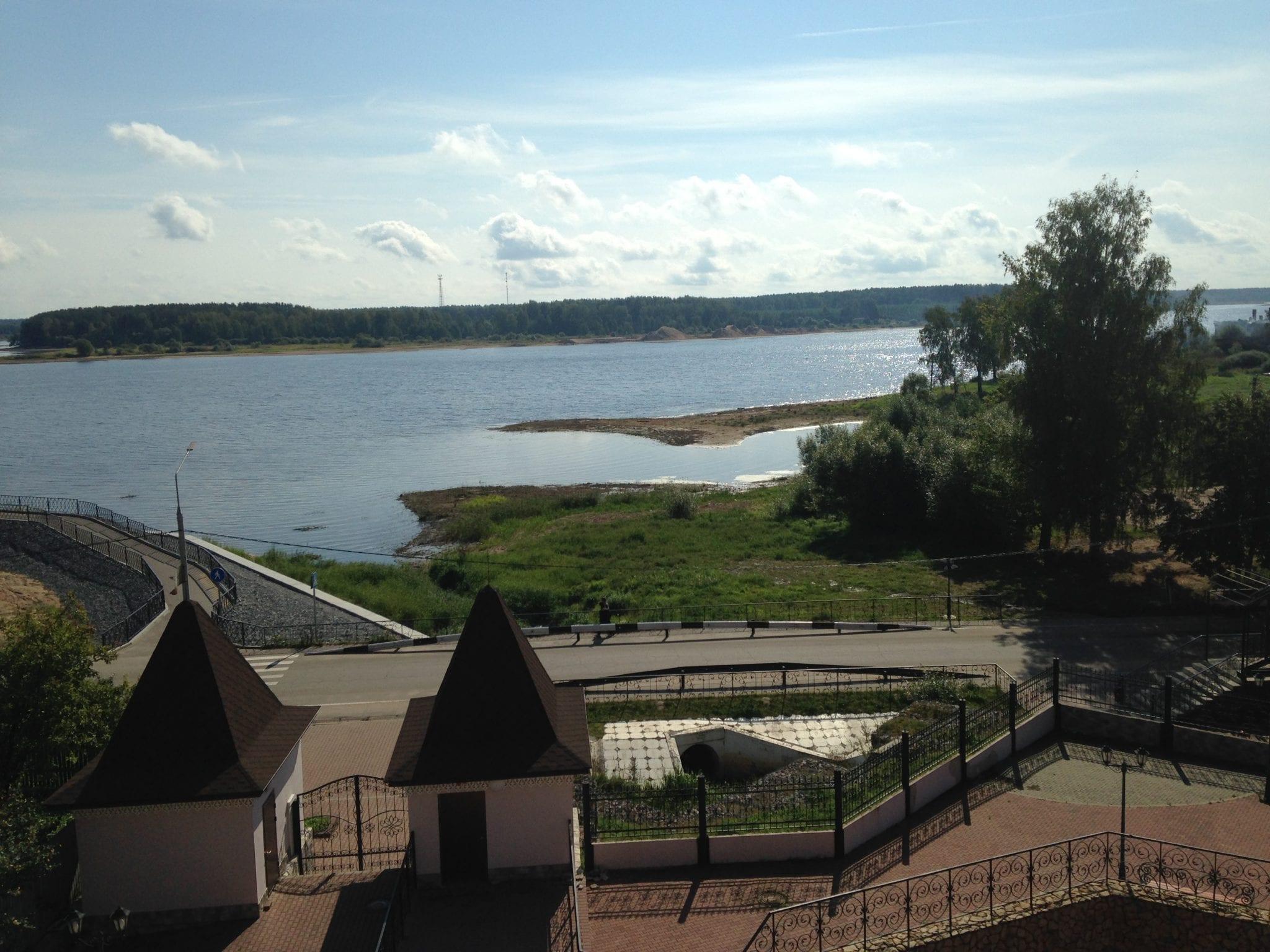 river in Myshkin