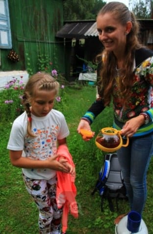 Dacha experience in Krasnoyarsk