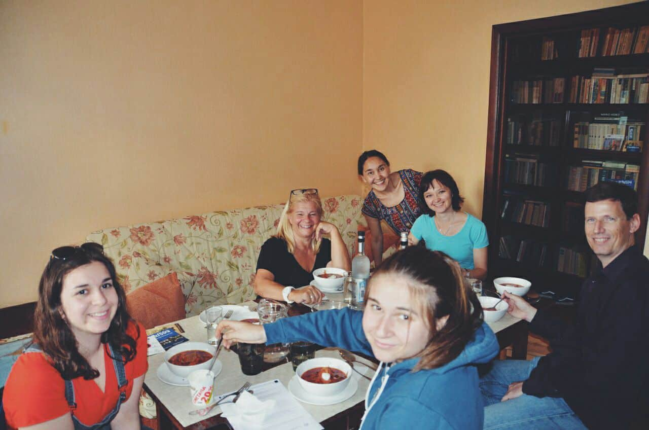 Home Cooking class in Russia