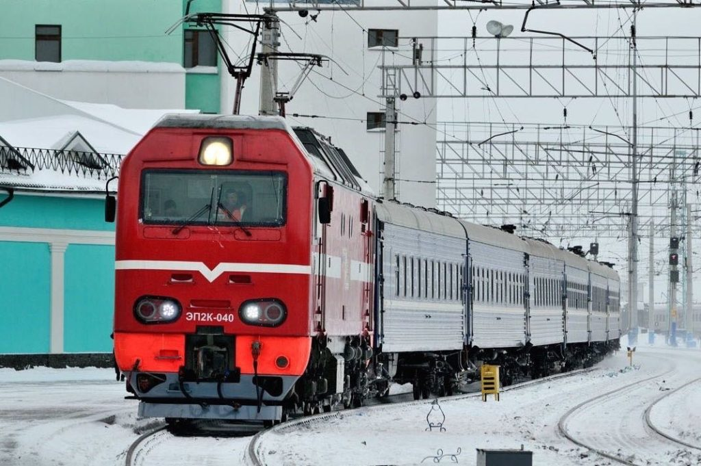 Trans-Siberian Railway guide Train