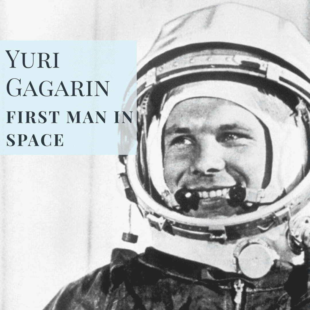 Yuri Gagarin first man in space