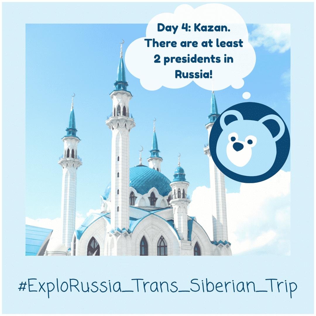 Trans-Siberian Railway tour Kazan city