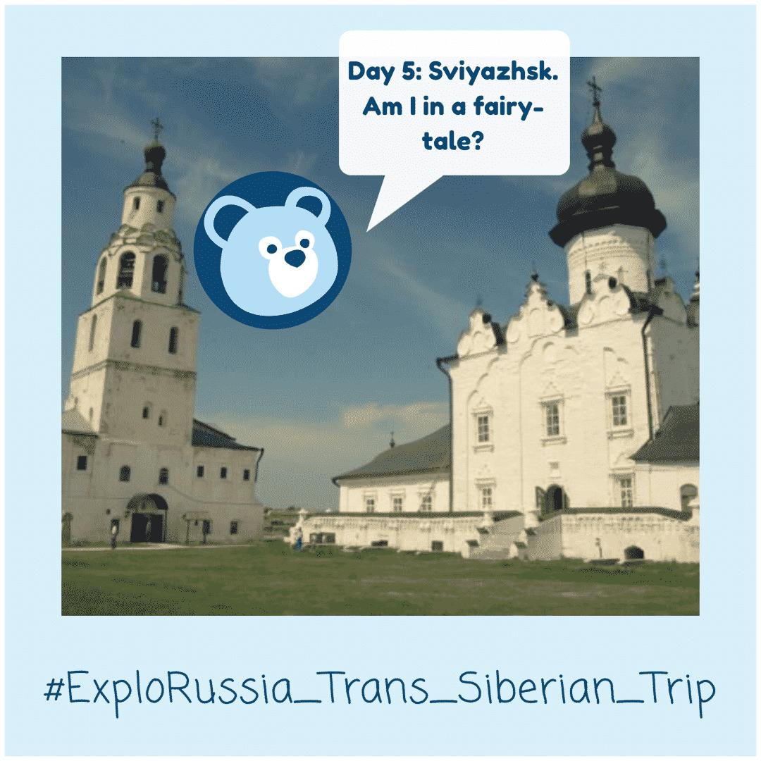 Sviyazhsk. Trans-Siberian Railway tour