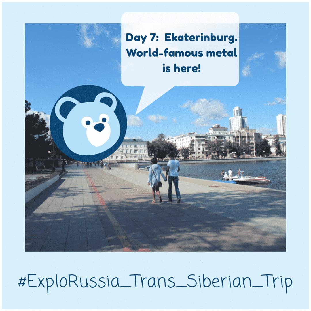 Ekaterinburg city on Trans-Siberian Railway tour