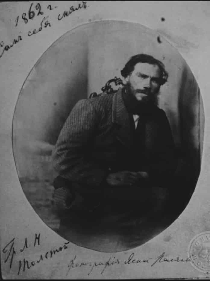Selfie by Leo Tolstoy