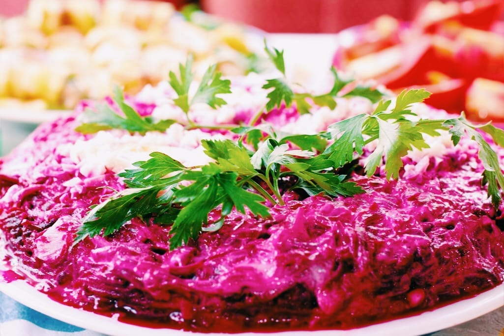 Russian food salad Shuba