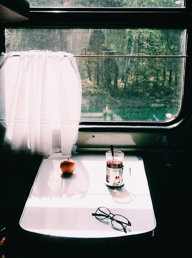 Trans-Siberian Train Compartment
