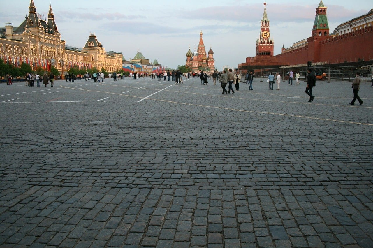 Red Square accessible Russia
