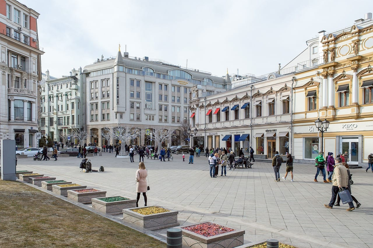 Moscow street accessibility