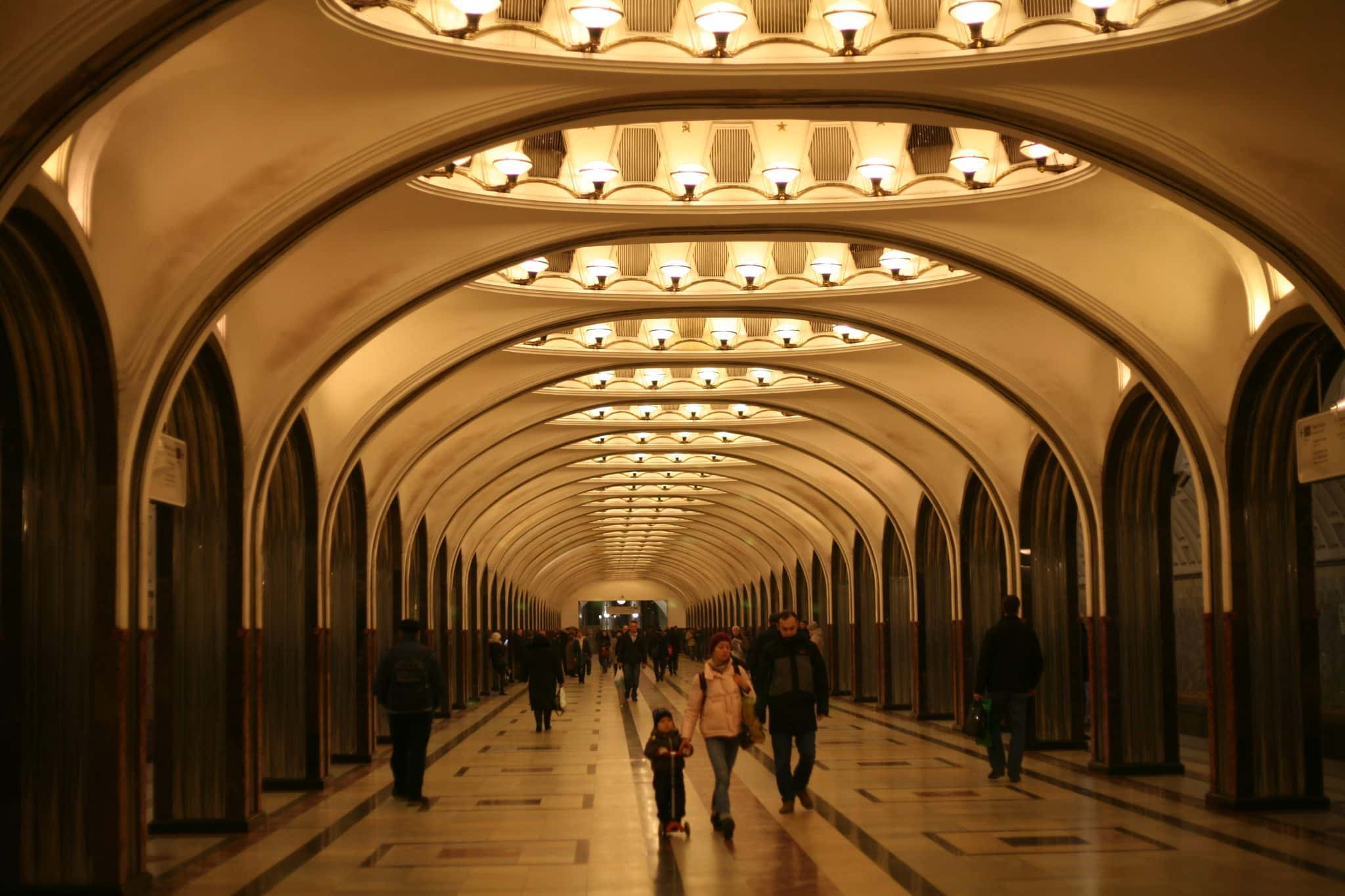 Moscow metro accessibility