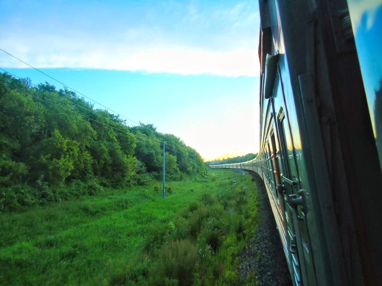 Le train Transsibérien