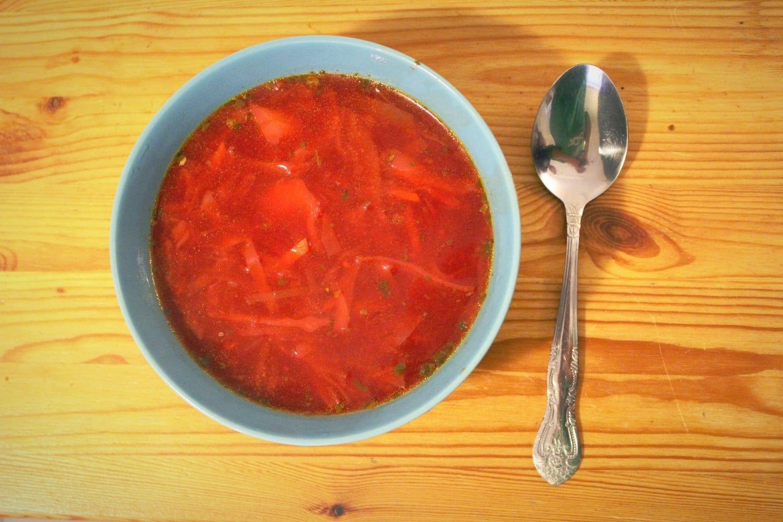 La soupe russe borscht