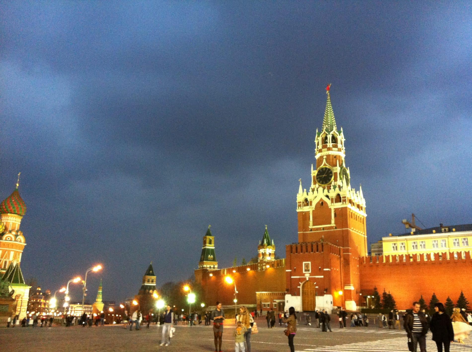 Soviet Russia Red square