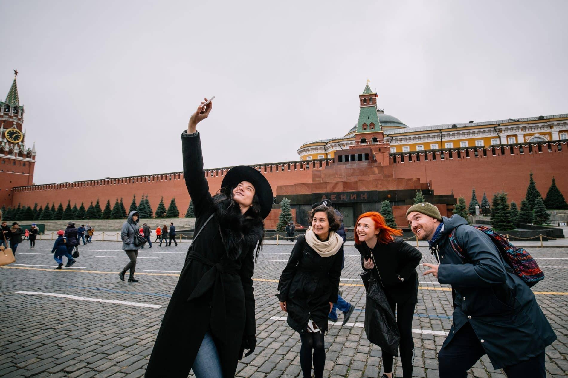 Soviet Russia Mausoleum