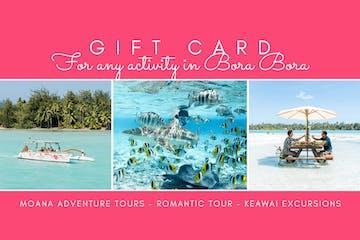Romantic Tour gift card