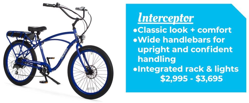 Pedego Interceptor Cruiser Bike Ebike