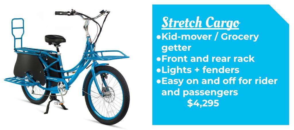 Pedego Stretch Cargo Ebike Bike