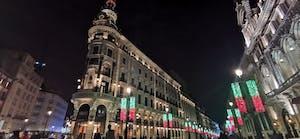 Calle Alcalá con la Puerta del Sol al fondo