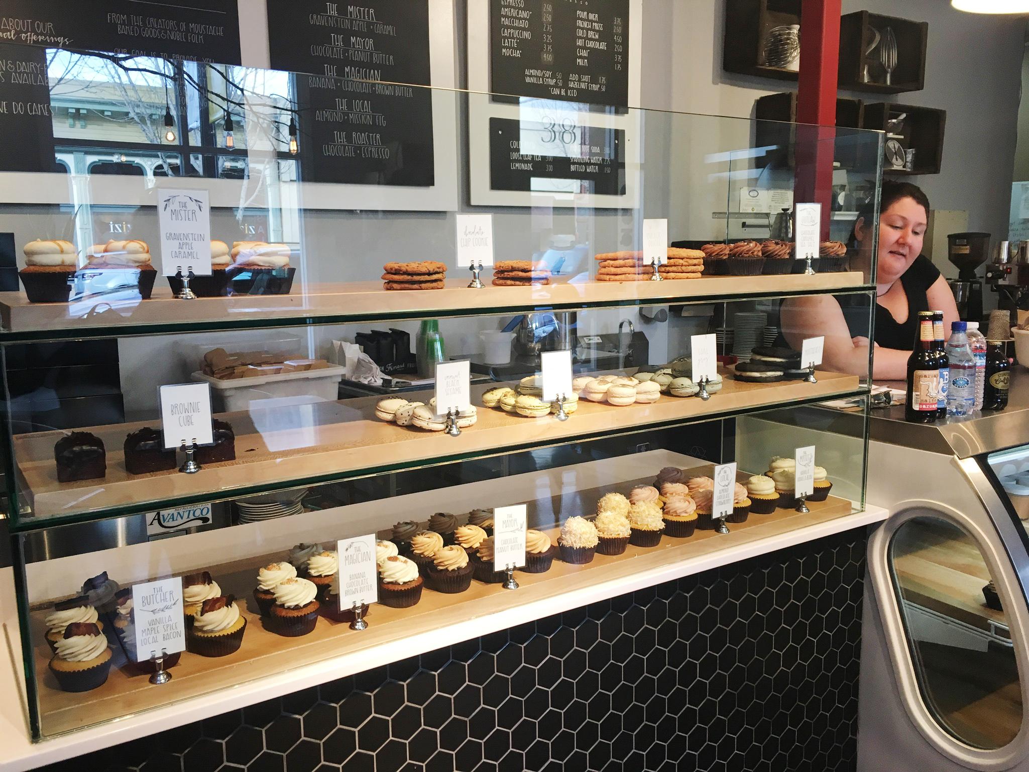 Moustache Bakery Cupcakes