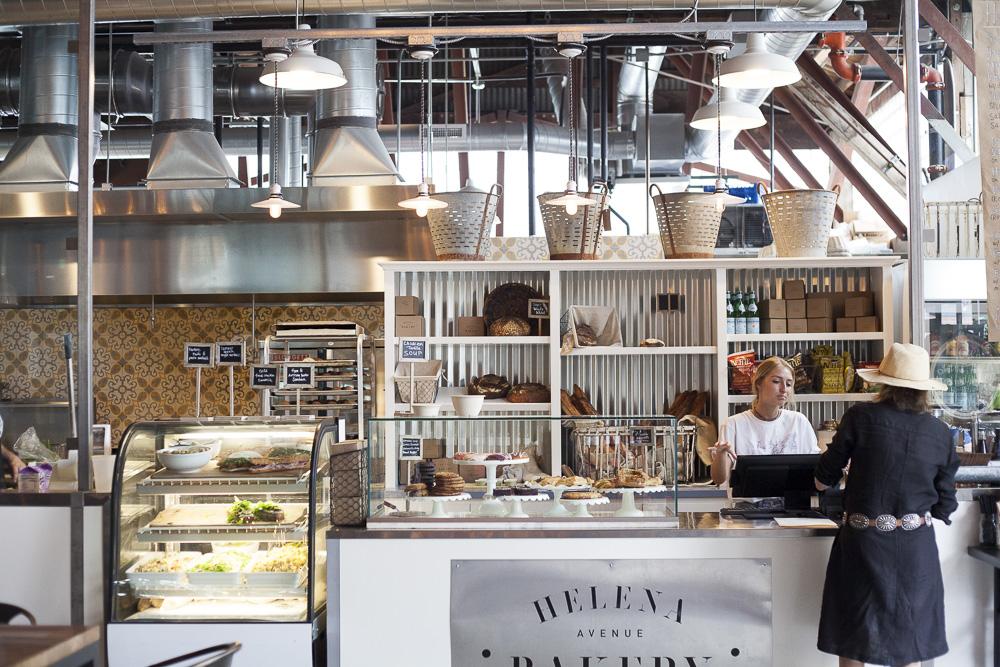 Interior of Helena Avenue Bakery