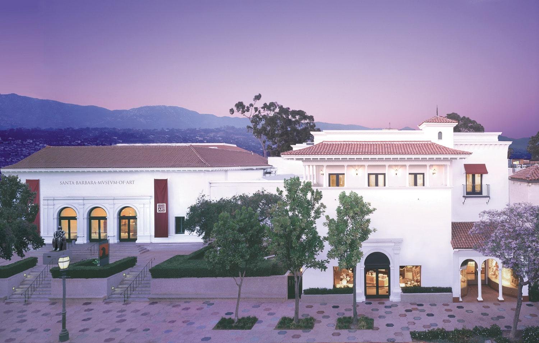 Santa Barbara Museum of Art Entrance