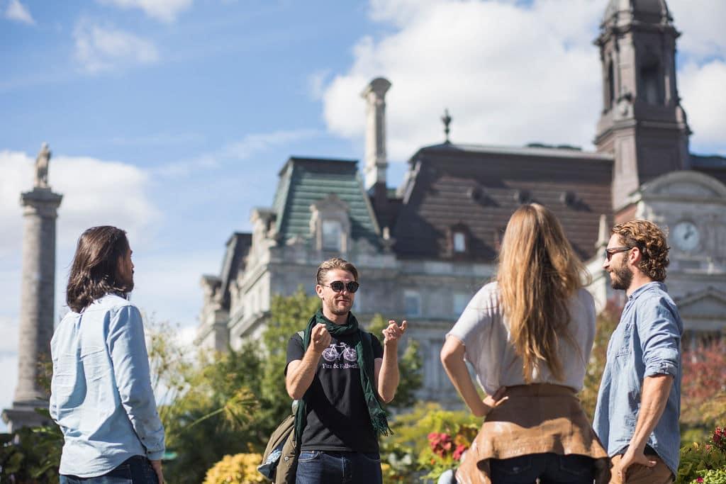 Underground City Montreal Tour Fitz Champ de Mars Hotel de Ville