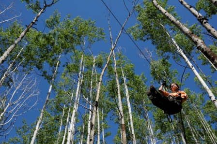 Durango Mountain Zip Line