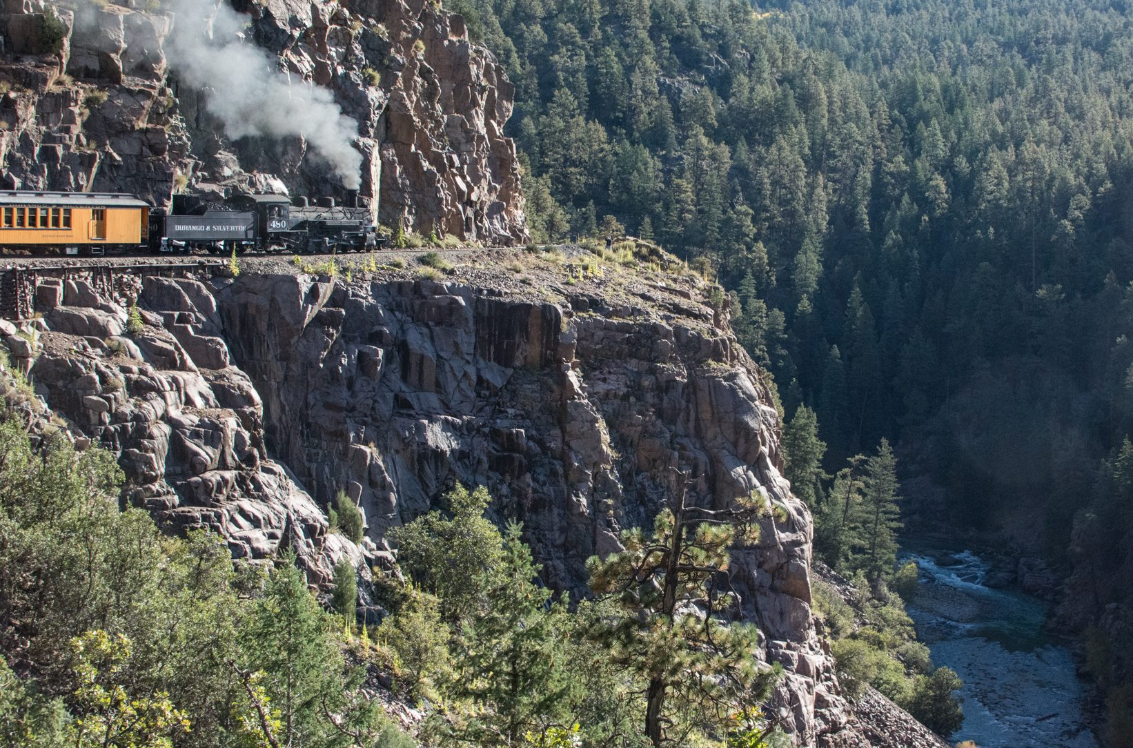 Durango train zip line