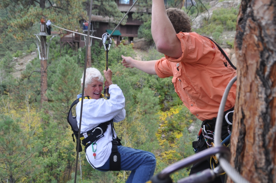 Zip line tour in Durango