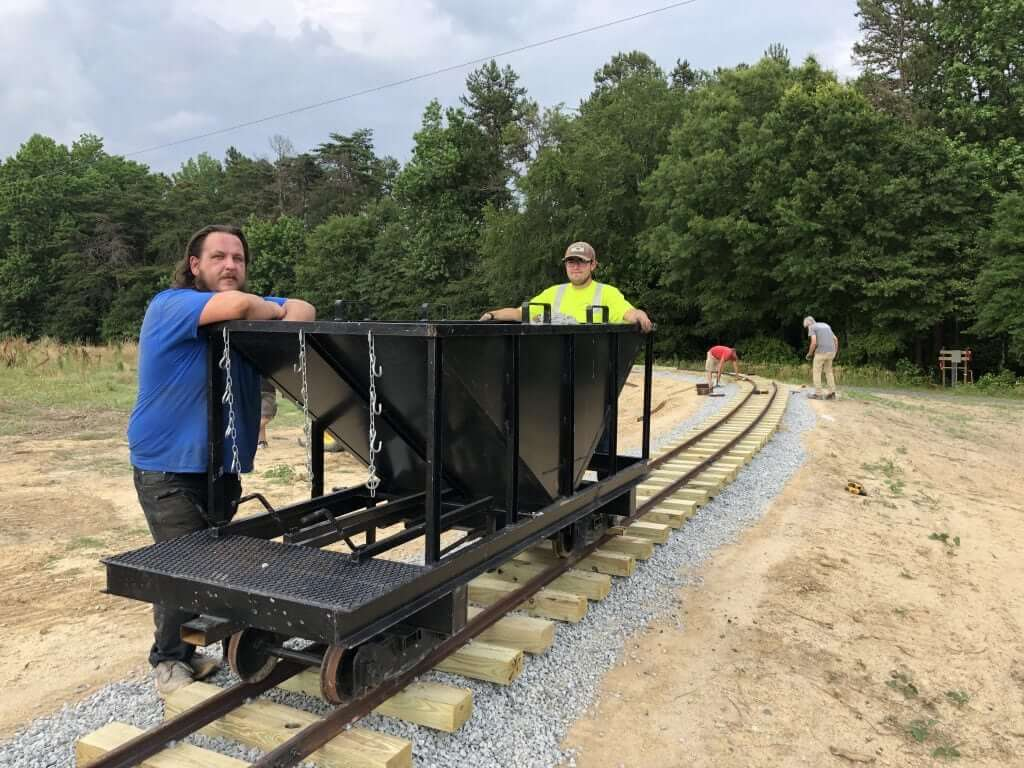 building the kersey valley express