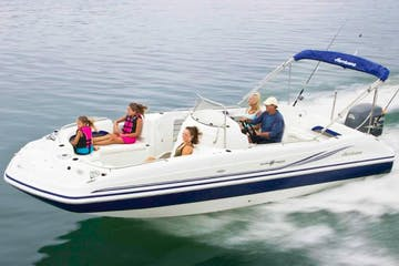 speed boat private charter