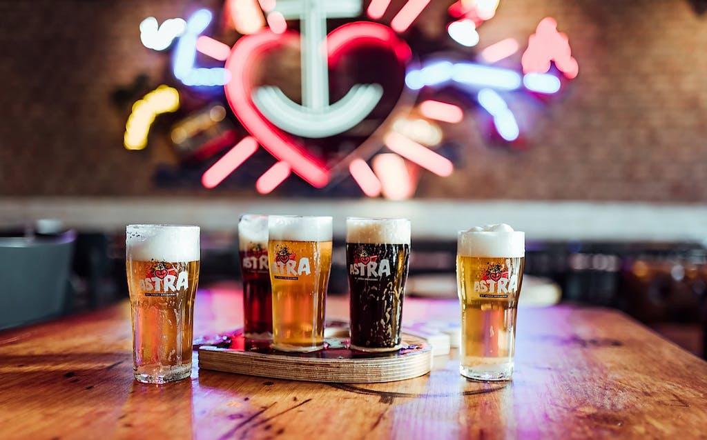Brauereiführung Astra Brauerei