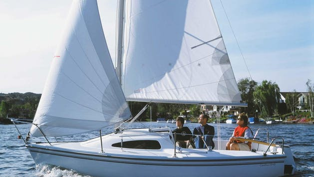 Capri 18' sailboat rental in San Diego