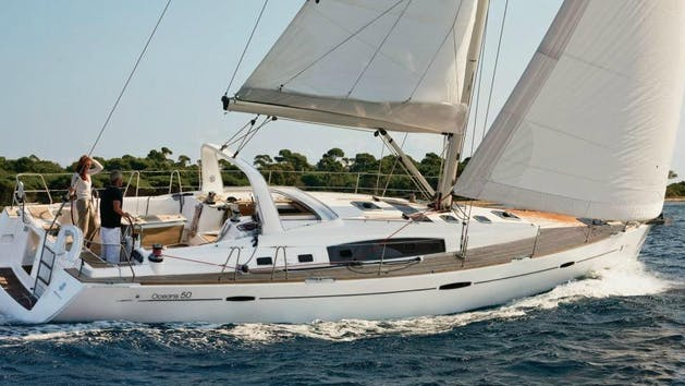 Beneteau 50' sailing yacht charter in San Diego