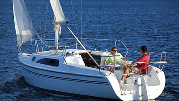 Catalina 250 sailboat rental in San Diego