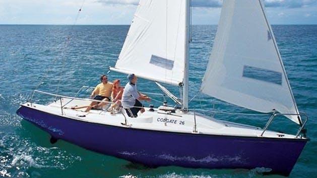 Colgate 26' sailboat rental in San Diego