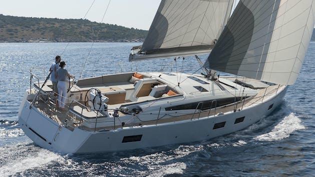 Jeanneau 54' sailing yacht in San Diego